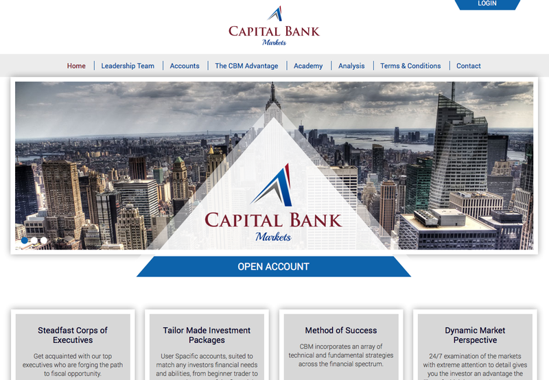 Capital Bank Markets - trading platform